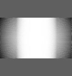 Halftone pattern gradient background round spot vector