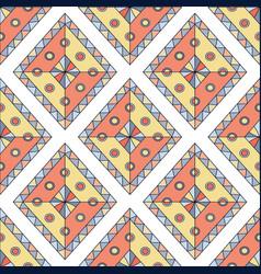 Geometric rhombus seamless pattern abstract vector