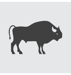 Buffalo icon vector image