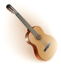 Classical spanish guitar vector