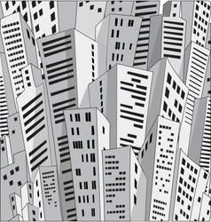 Urban homes vector