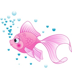 Cute fish vector