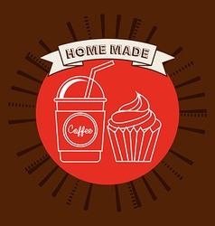 Homemade product vector