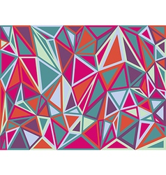 Abstract triangle geometrical multicolored backgro vector