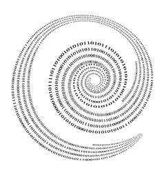Binary Code Background Numbers Concept vector image vector image