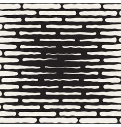 Seamless hand drawn horizontal lines vector