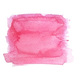 Abstract watercolor hand paint magenta texture vector image vector image