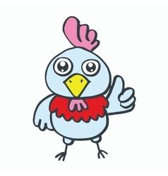 Chick kids t-shirt design cartoon vector