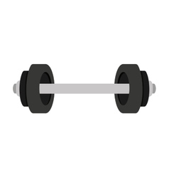 weight lifting isolated icon vector image vector image