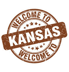 Welcome to kansas vector