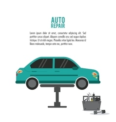 Auto rapair icon graphic vector
