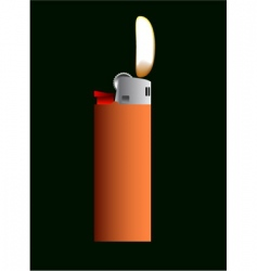 lighter vector image