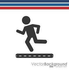 Fitness sport design vector