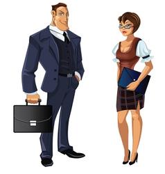 Office staff vector