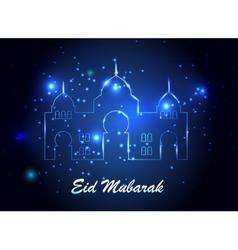 Background for muslim community festival vector