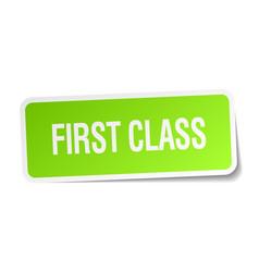 First class vector