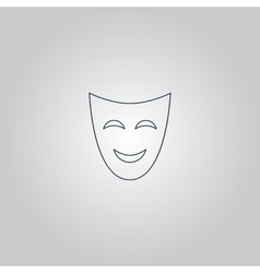 Joyful mask vector