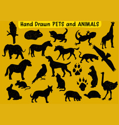 Pets-and-animals vector