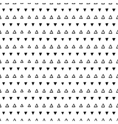 Seamless scribble triangle pattern vector image