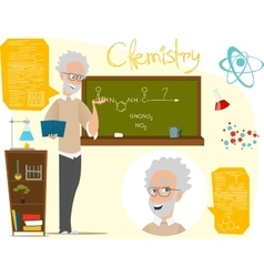 Back to school  chemistry vector