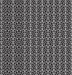 Halloween black and white background pattern vector