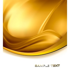 Abstract gold background vector