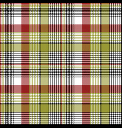 Abstract pixel check plaid seamless pattern vector