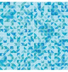 Geometric background in vintage colors vector image vector image