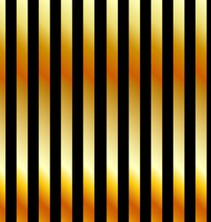 Golden stripe background vector image vector image