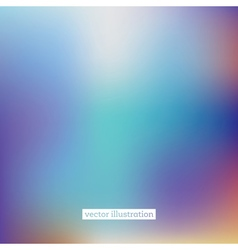 Abstract Blurred Background in Bright Colors vector image