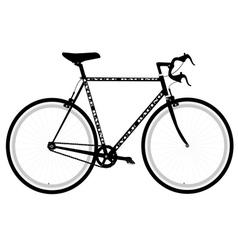 Sports bike vector