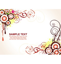 Abstract sampletext vector image