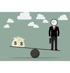 Balancing time and money vector