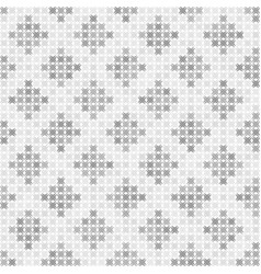 Gray and white abstract pattern seamless vector