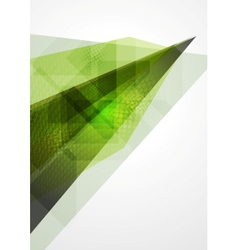Technology geometry abstract background vector image vector image
