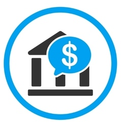 Bank transaction icon vector