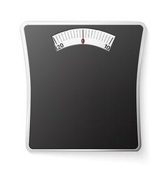 Bathroom weight scale vector