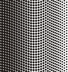 Black halftone texture vector