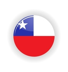Chile icon circle vector