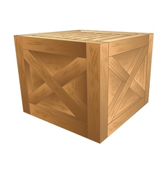 Crate vector