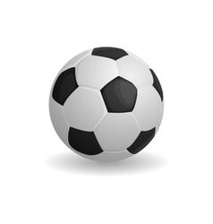 Football ball icon cartoon style vector image vector image