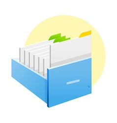 Icon files vector