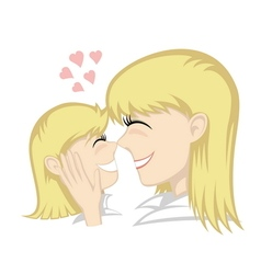 Lovin mommy collection vector