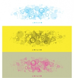modern backgrounds vector image vector image