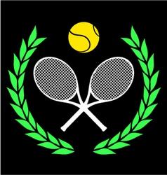 Tennis icon vector image vector image