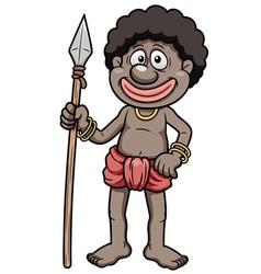 Tribal Warrior vector image