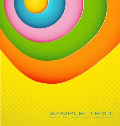 colored illustration vector image
