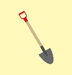 Shovel icon garden tool vector