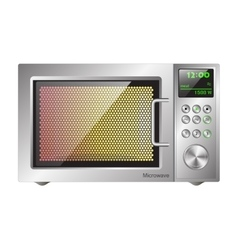 Board microwave oven vector