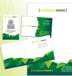 Company style green vector